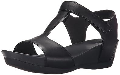 camper micro tacones sandalias para mujer negro black eu