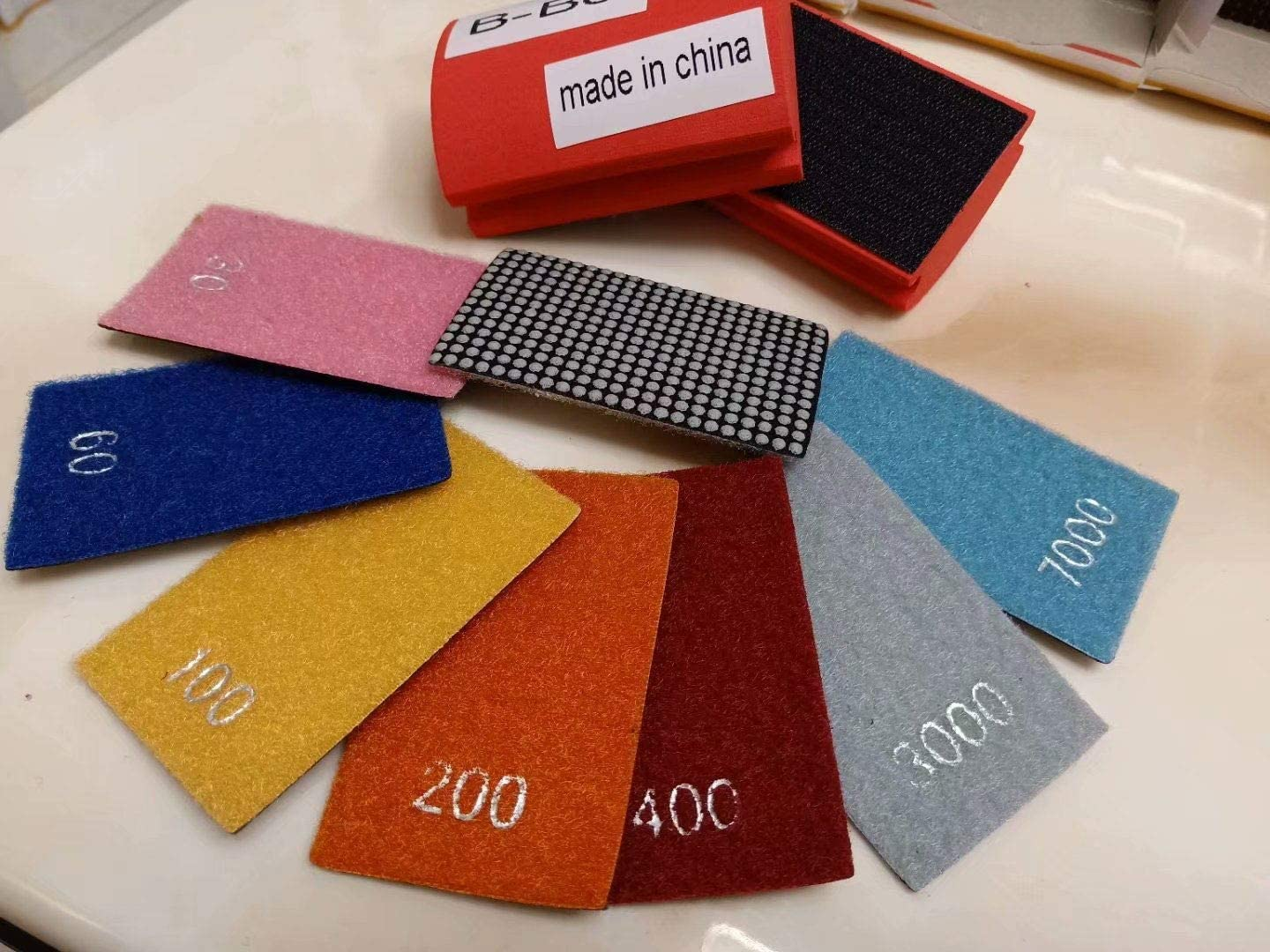 Diamond Hand Polishing Pad Sanding Block 18 2 For Granite