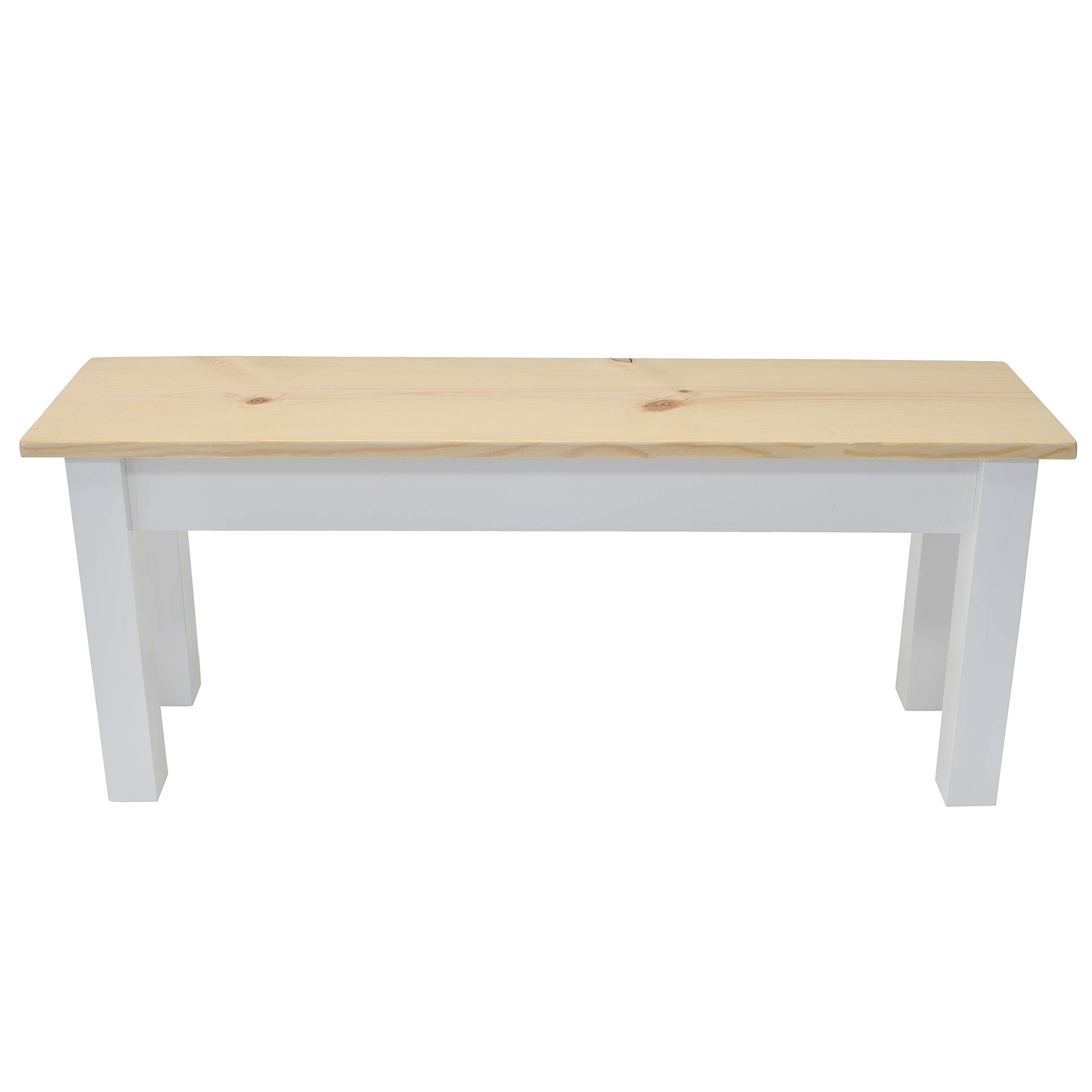 Nantucket Solid Wood Bench (42'')