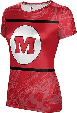 6087925994c5 Amazon.com: ProSphere Monmouth College Girls' T-Shirt - Ripple: Clothing