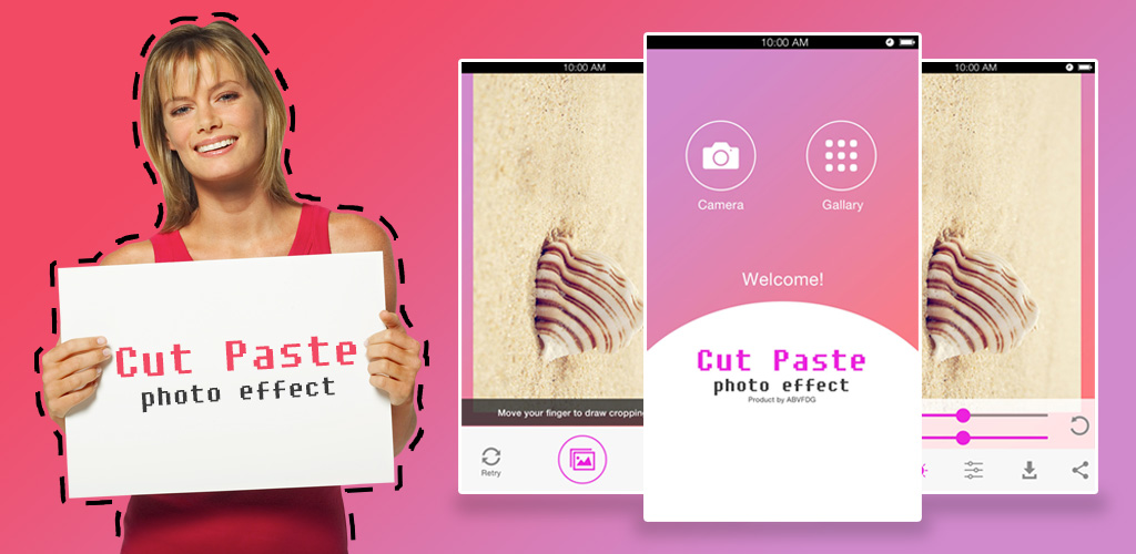 how to cut and paste with android