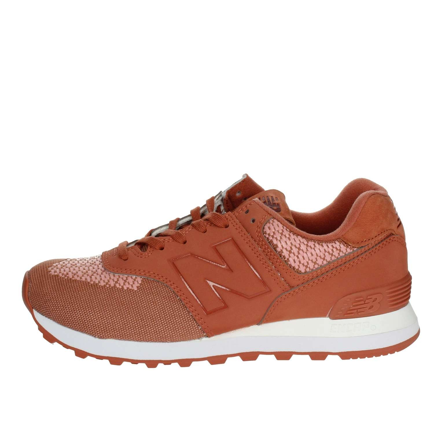 New Balance WL574FAD Turnschuhe Damen Orange 40