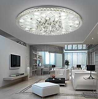 Moderne LED Deckenleuchte Runde Wohnzimmer Led Kristall Minimalistische Atmosphre Europische Lobby Restaurant