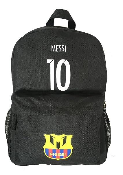 Amazon.com: Forever Fanatics Barcelona Messi #10 Mochila de ...