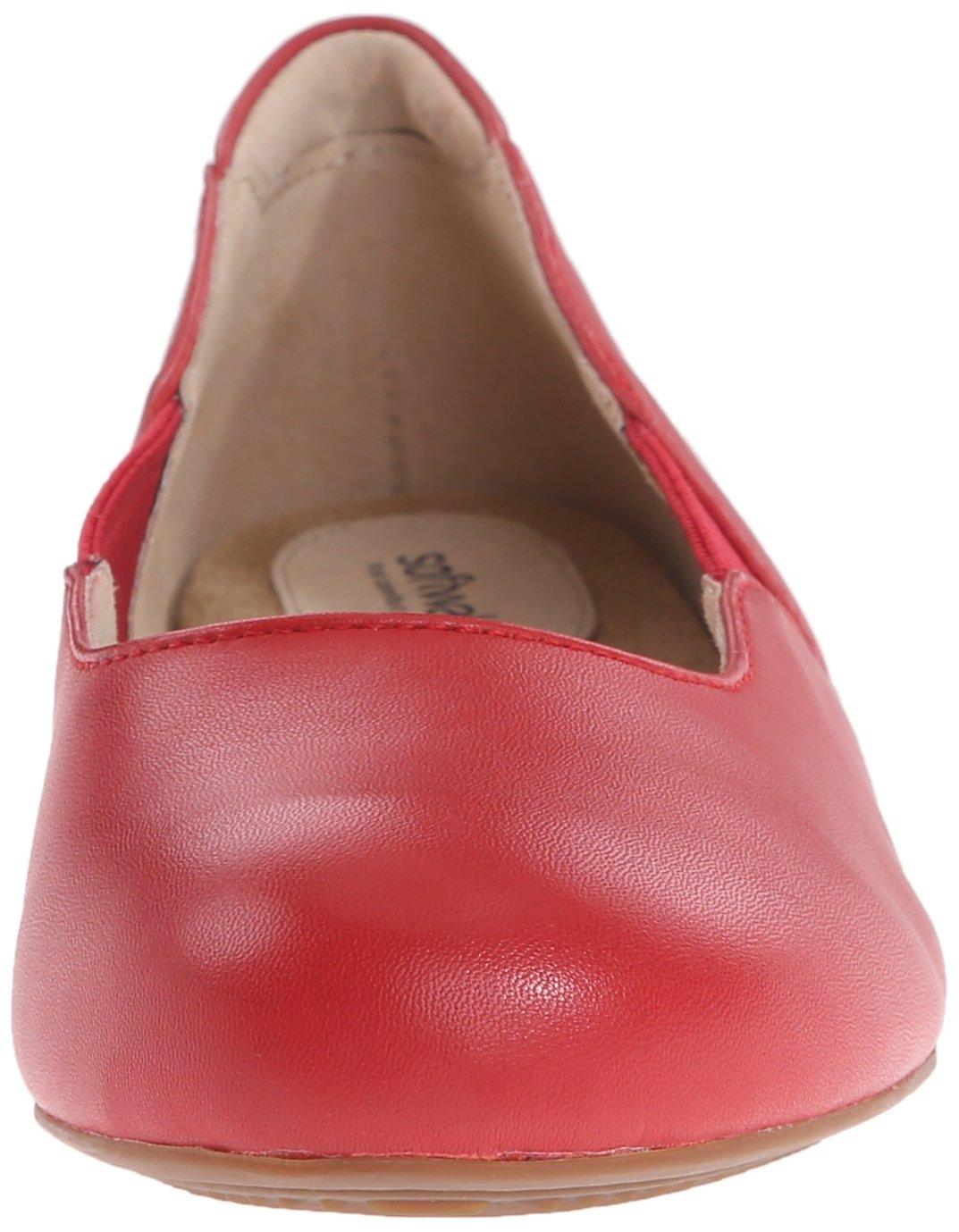 SoftWalk Women rojo s Norwich Ballet Norwich Flat 19943 rojo 7b403be ...