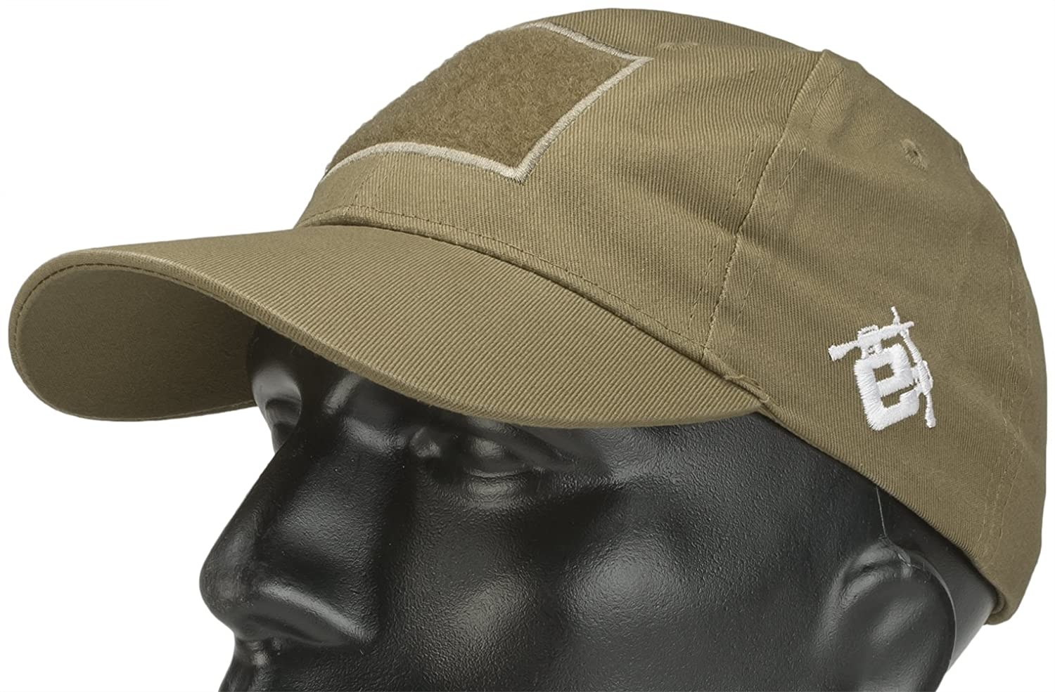 c361009c Amazon.com: Evike Mil-Spec Patch Ready Tactical Ball Cap - Tan - (29740):  Sports & Outdoors
