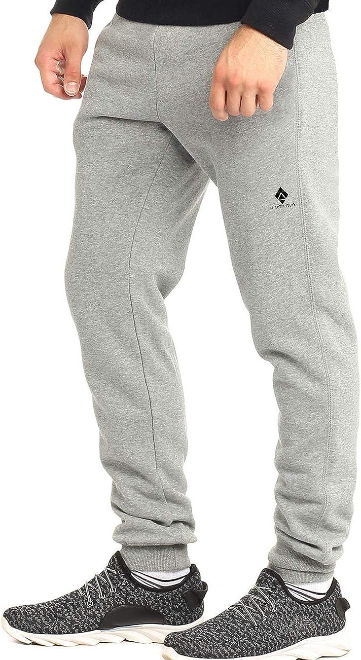 grau Sweatpants urban ace schwarz S Sporthose Athleisure One komfortable Jogginghose L Herren M f/ür Fitness und Freizeit