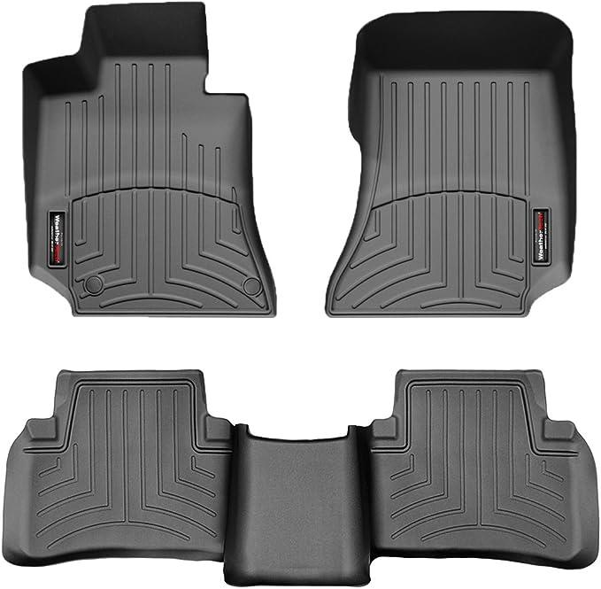 Weathertech Floorliner Kompatibel Für Mercedes Benz E Limousinew212 Kombi S212 2009 13 Schwarz 1 Und 2 Reihe Auto