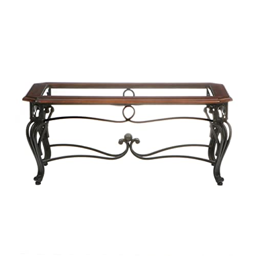 Wrought Iron Coffee Tables: Amazon.com