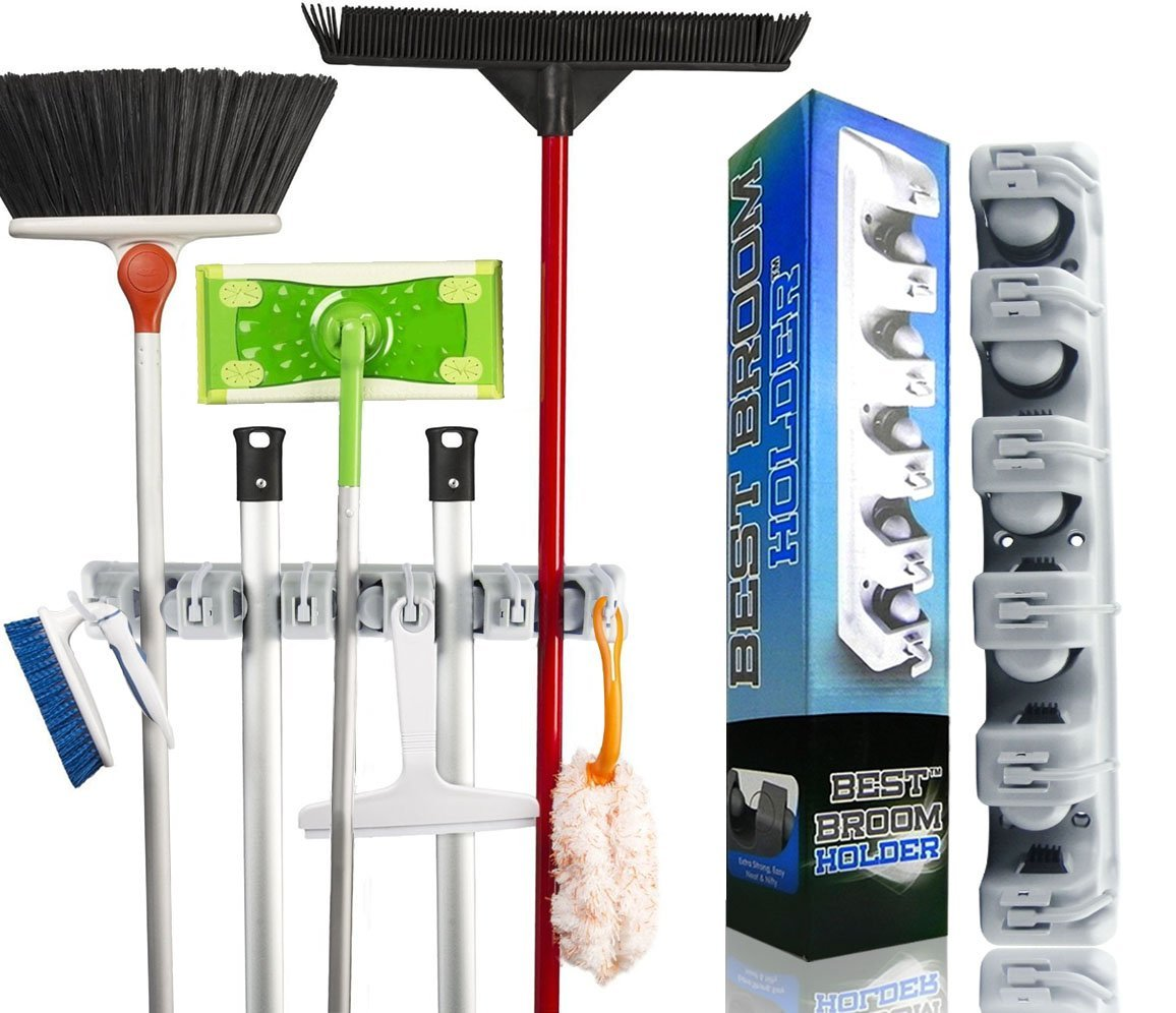 Best Broom Holder The Most Powerful Grippers Mop Broom
