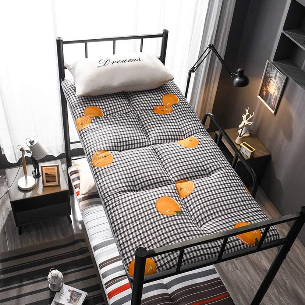 PLOLLD Futon-Matratze Farbe : A, Size : Twin-90/×200cm Klapp Tatami Bodenmatte Tragbare Camping-Matratze for Kinder Schlafenauflage japanischen Boden Matratze Couch-Bett