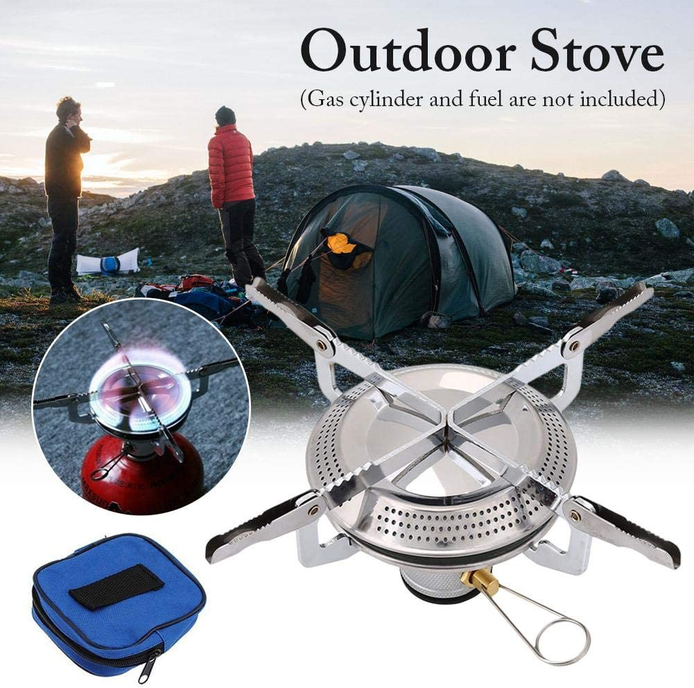 Camping Stove Disc Gas Stove Cooker Supplies Hiking Backpack Picnic Cooker Outdoor Gas Stove to Meet The Needs of Various Outdoor Activities. N//X Portable Outdoor Picnic Cooker