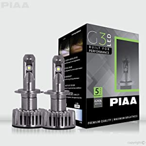 PIAA 26-17407 G3 H7 LED Bulb (6200K 12/24V 23W Twin Pack)