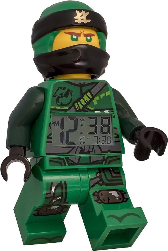 Amazon.com: LEGO Ninjago Lloyd - Reloj despertador ...