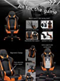 MIERES High Back Racing Office PU Leather Gaming