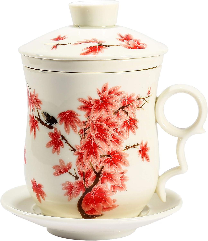 aza De Té De Porcelana Hecha A Mano China - Increíble