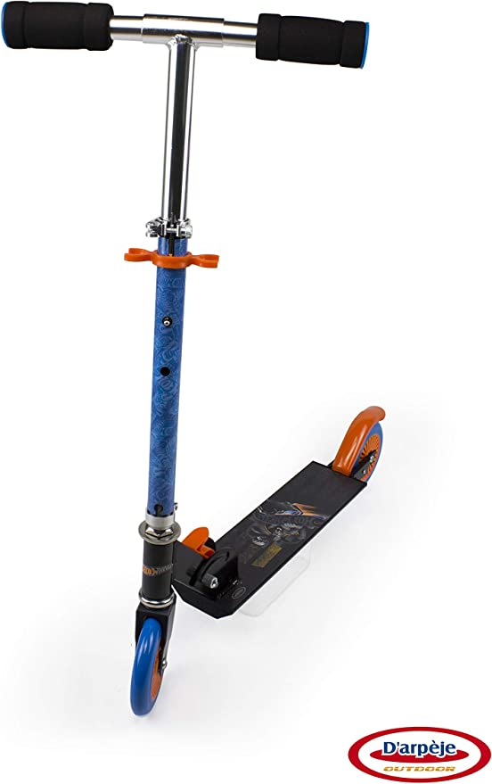 Hot Wheels Monopattino Pieghevole 2 ruote Ods