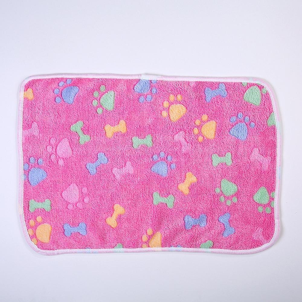 E 7652cm E 7652cm Dixinla Pet Bed Pet Blanket Kennel Mat Dog Blanket Warm Blanket Thick Coral Velvet