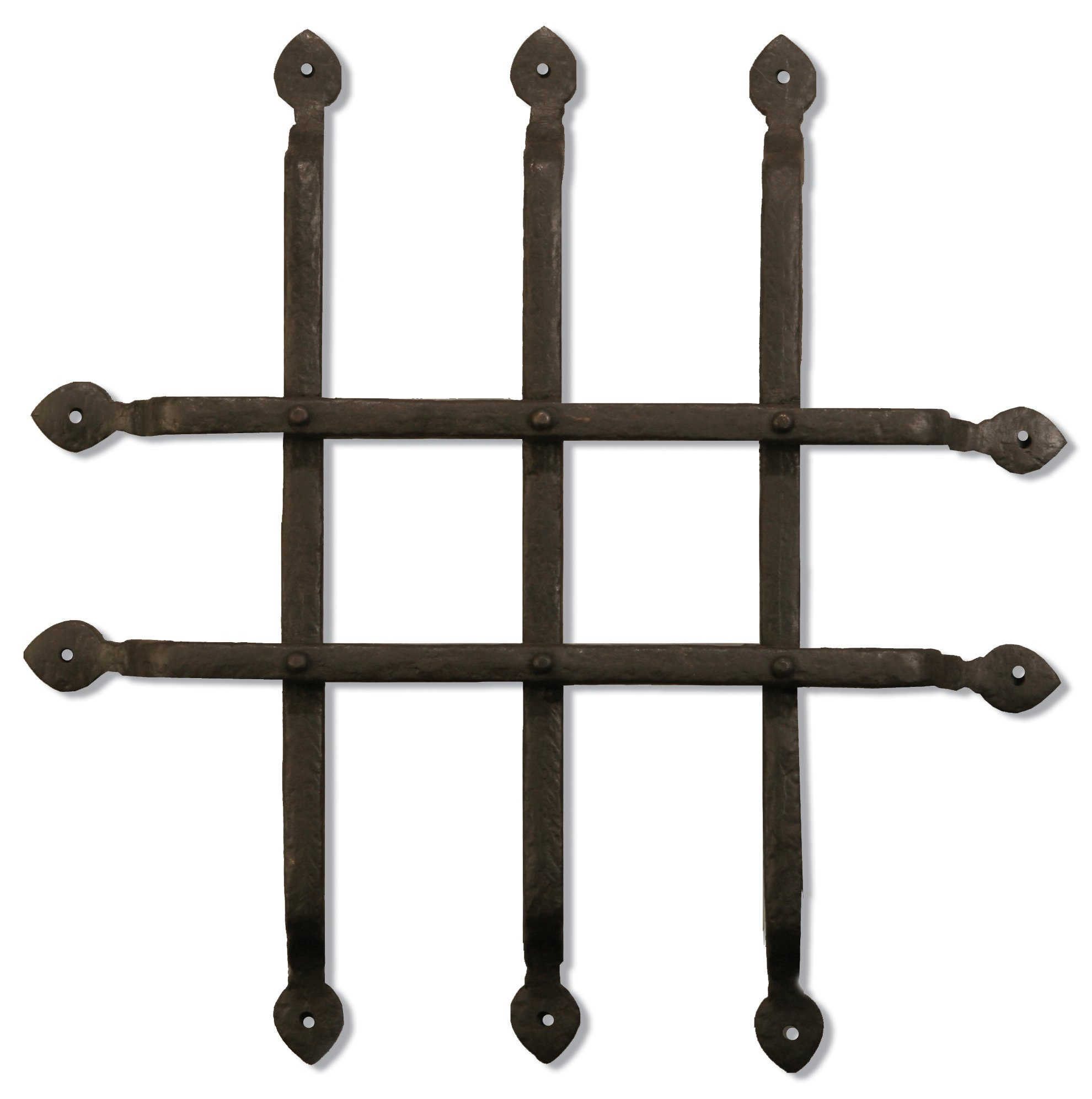 Coastal Bronze - 14'' Gate / Door / Window Grill - Solid Bronze by Coastal Bronze