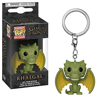 Funko Pop! Keychains: Game of Thrones - Rhaegal: Toys & Games