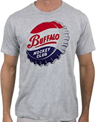 be956d39b9ba Buffalo Hockey Club T-Shirt Vintage Hockey Shirt for Men by Slingshot Hockey