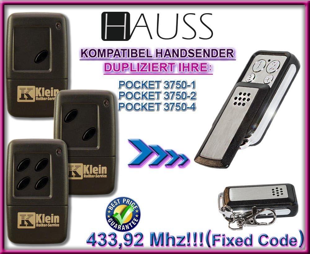 3750-1 HEROAL POCKET 3750-2 3750-4 Kompatibel Handsender ersatz klone