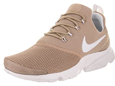 Amazon.com | Nike Women's Presto Fly Sand/White Running Shoe 6 Women ...