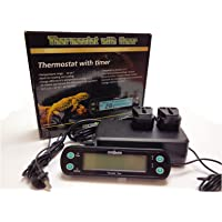 Reptile Vivarium Professional Digital Day / Night Thermostat with Timer