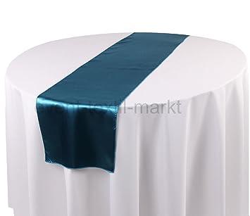 Satin Tischlaufer Mittellaufer 30x270 Cm Deko Hochzeit Event Party