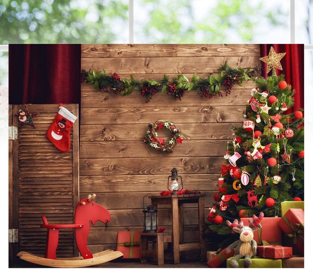 5x3ft Christmas Festive Photo Backdrop Party Background Holiday Decoration Photography Studio