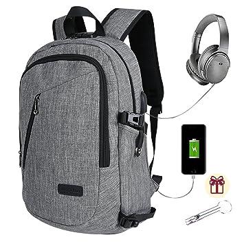 795d9a5038 Sac à Dos Professionnel pour Ordinateur Portable à Ordinateur avec Port USB Sac  à Dos étanche