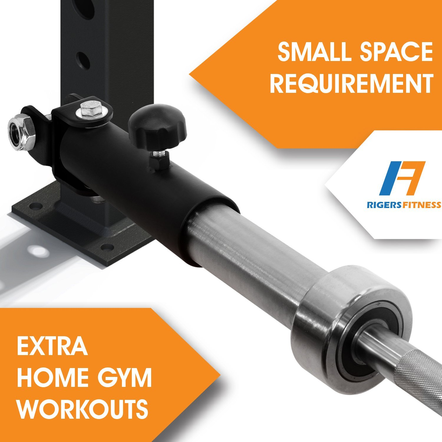 """Compatible with 2x2 2x3 /& 3x2 Rack RIGERS T-Bar Row Landmine Power Rack Attachment Fit 2/"""" Olympic Bars"""
