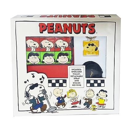 Cacahuetes Snoopy, Charlie Brown, Lucy Hombro Monedero y ...