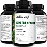 Pure Green Coffee Bean Extract - Green Coffee Extract with 50% Chlorogenic Acid for Heart Health Immune Support Brain Health