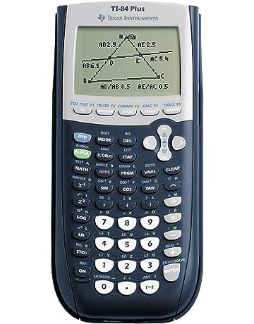 Negro Texas Instruments TI-84 Plus 0.024 MB, 0.480 MB, Bater/ía, AAA Calculadora