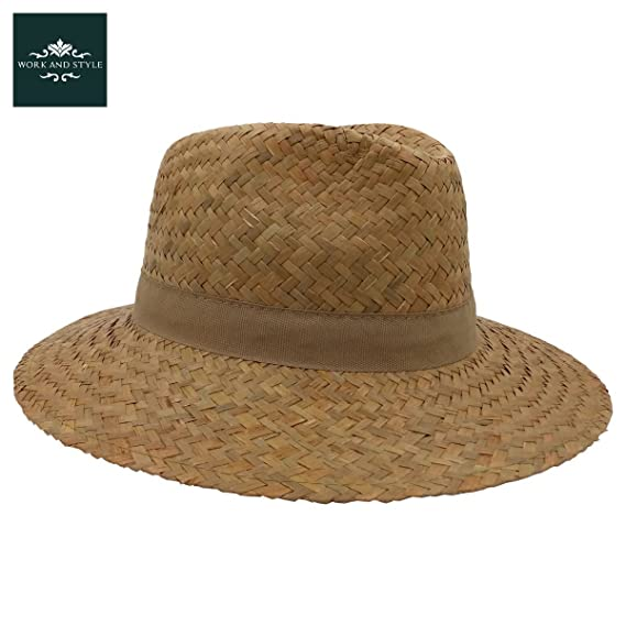 WORK AND STYLE Traveller Country Cappello di Paglia by  Amazon.it   Abbigliamento 0cd4f8c9d0ce