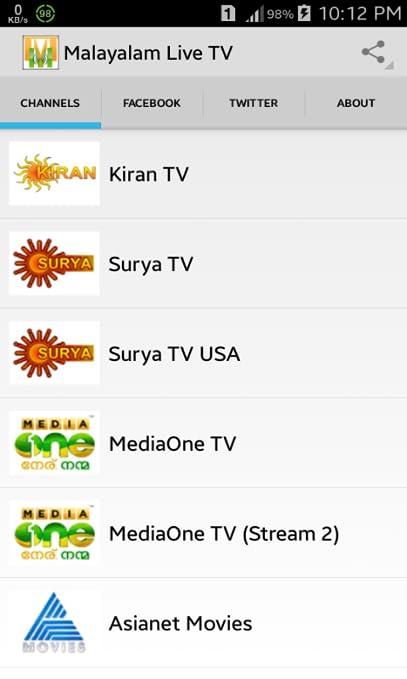Malayalam TV Live HD