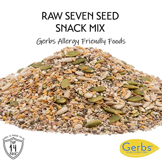 Mezcla de 7 semillas Raw Super de 1 lb – Top 12 alimentos ...