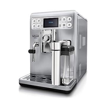 Gaggia RI9700/60 - Cafetera (Independiente, Máquina espresso, 1,5 L, Granos de café, De café molido, Molinillo integrado, Plata, Acero inoxidable): ...