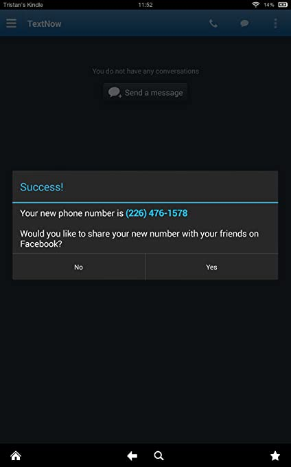 Amazon com: TextNow: Appstore for Android