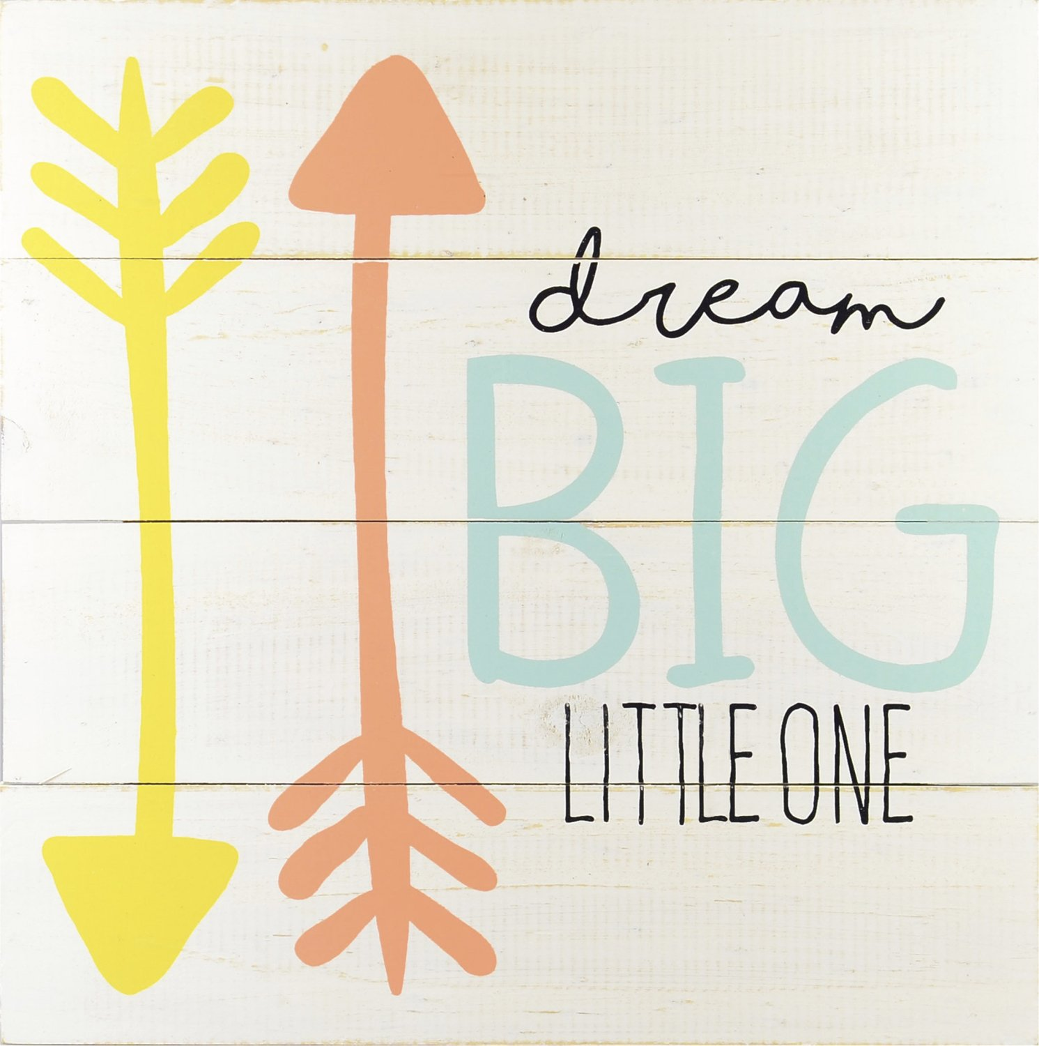 Linden Ave Wall Décor AVE10078 Dream Big Little One