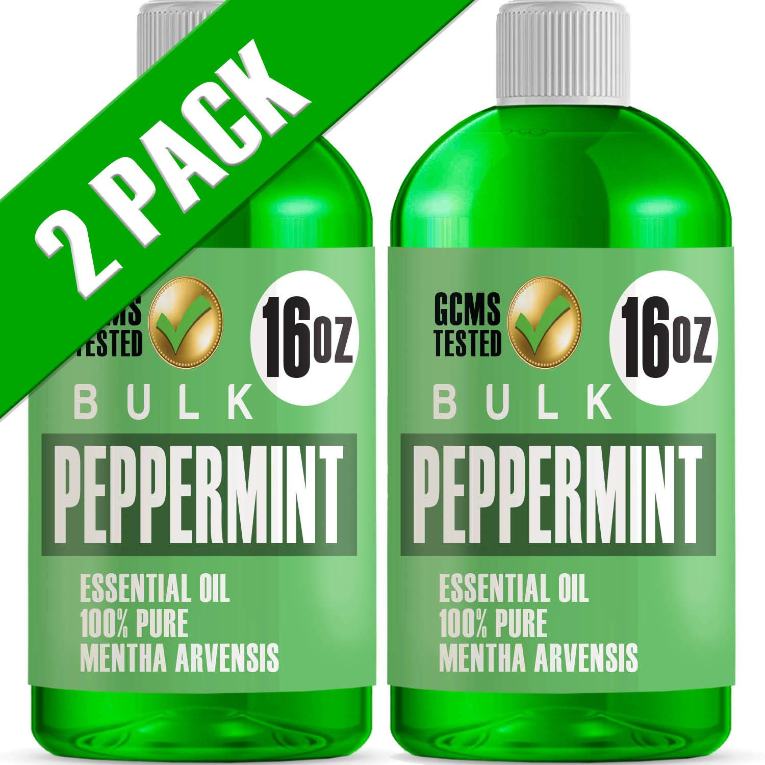 Lab Bulks Essential Oil Bulk Essential Oil, Peppermint, 32 Fluid Ounce by Lab Bulks Essential Oil