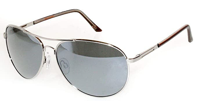 5f3f4b9af6 Dockers Polarized Metal Aviator Sunglasses One Size Gunmetal grey   Amazon.co.uk  Clothing