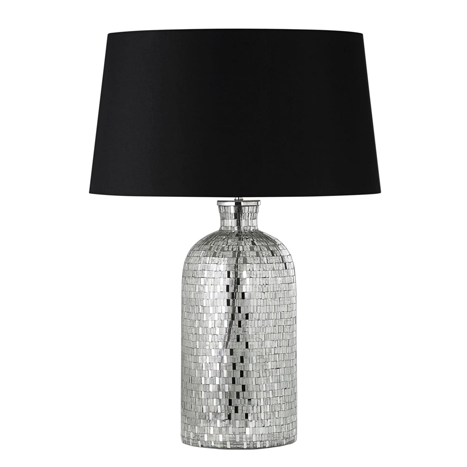 Modern black and silver ceramic pebbles table lamp haysoms - Modern Black And Silver Ceramic Pebbles Table Lamp Haysoms 20