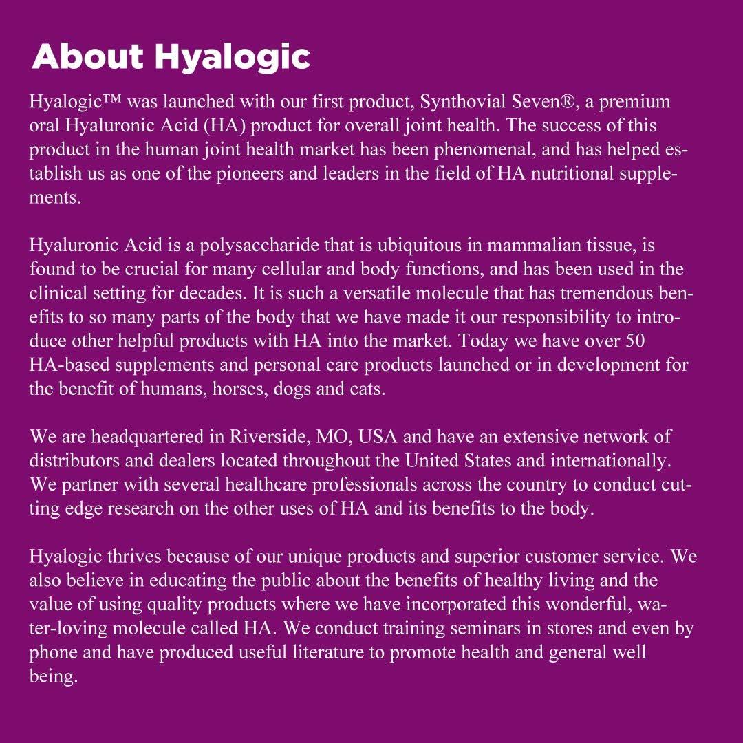 Hyalogic - Ha aerosol de pelo y del cuero cabelludo del Biotin - 4 la Florida. onza.