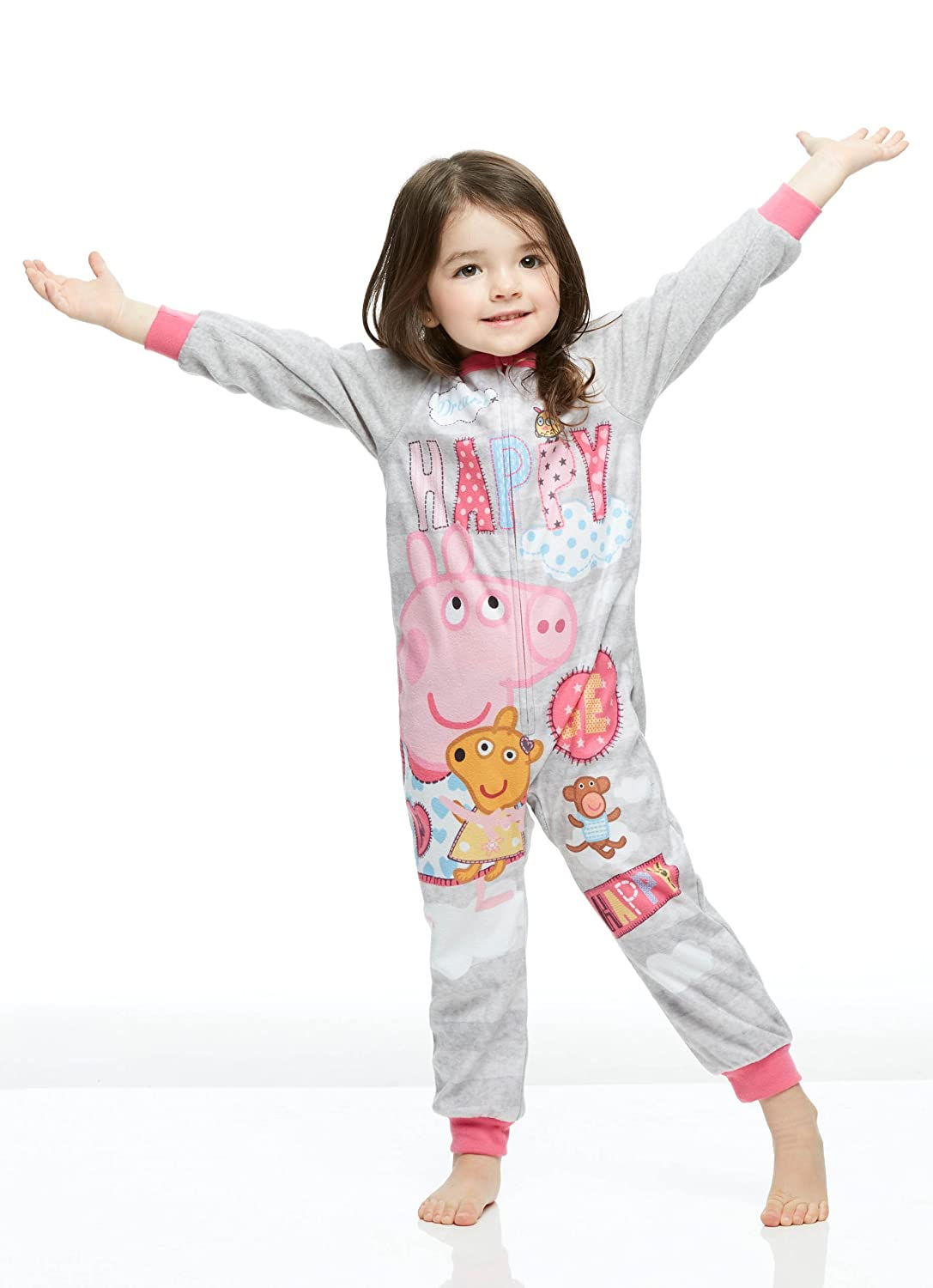 Girls Toddler Blanket Sleeper Onesie, Peppa Pig Pajama Jellifish Kids