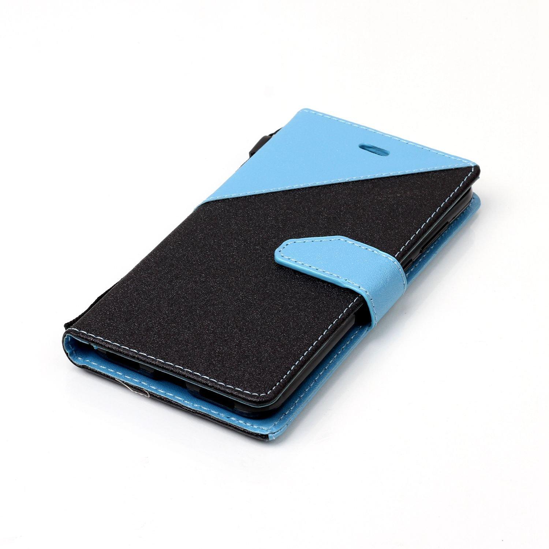 PU Leather Azzurro PU Lussuosa Case Ukayfe Custodia Huawei P8 Lite ...