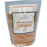 Relative Foods Organic Brown Sugar, 3 pound resealable bag. Packaged in our allergen free, gluten free facility. Certified gl