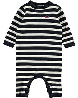 Name it Baby Strampler f/ür M/ädchen Denim-Overall mit Herzchen NBFBerna