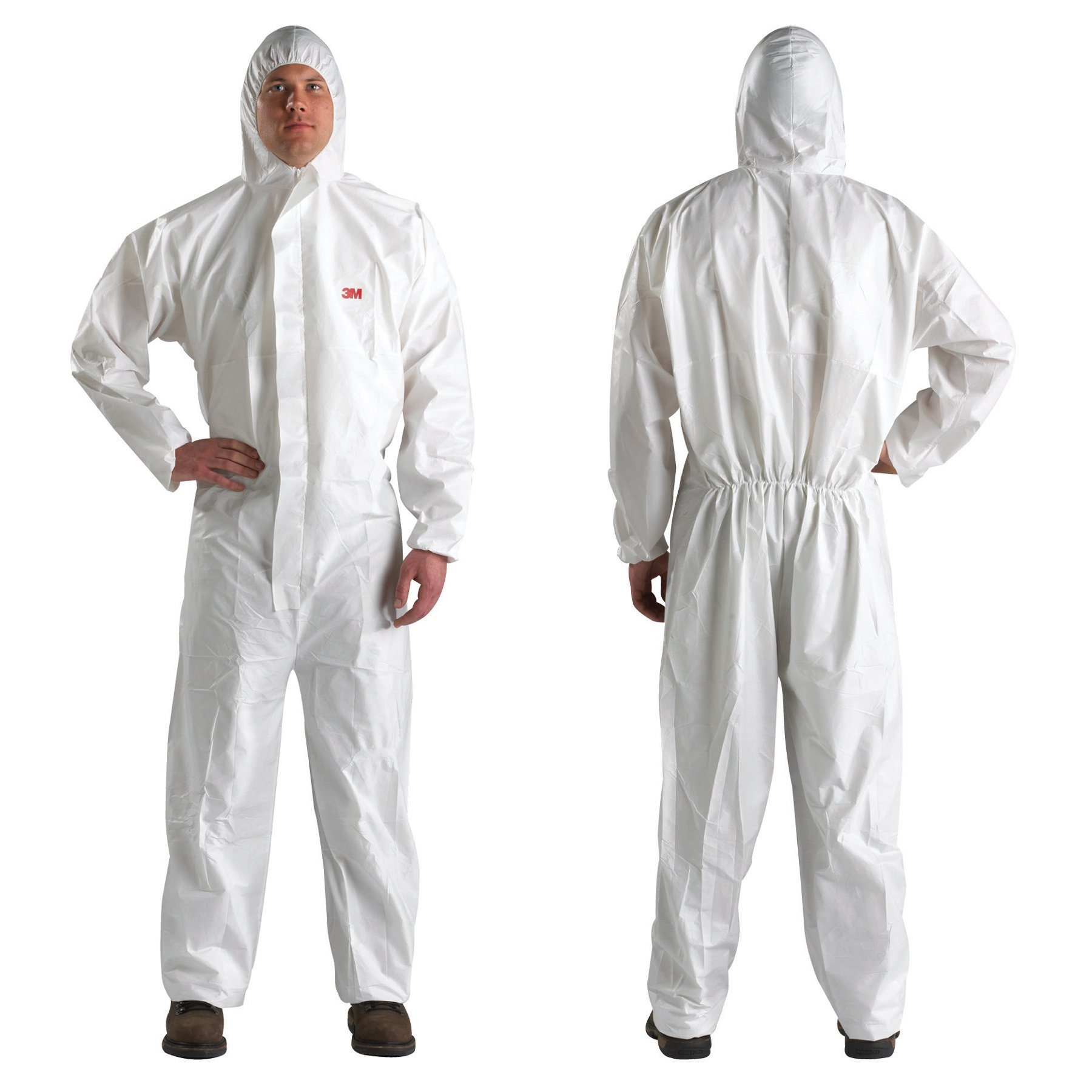 3M Disposable Protective Coverall 4510 (Large, As Shown)